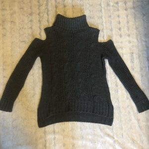 american eagle chenille knit sweater